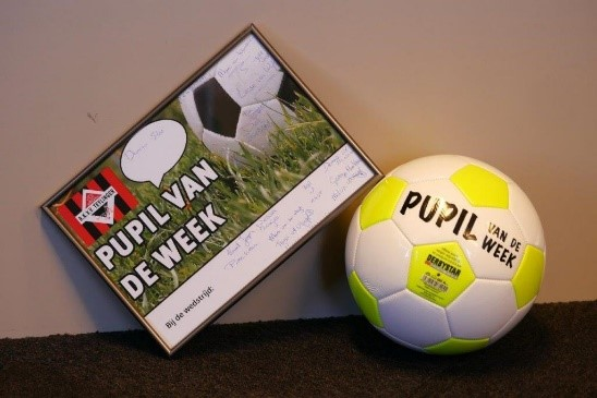 Guusje is pupil van de week