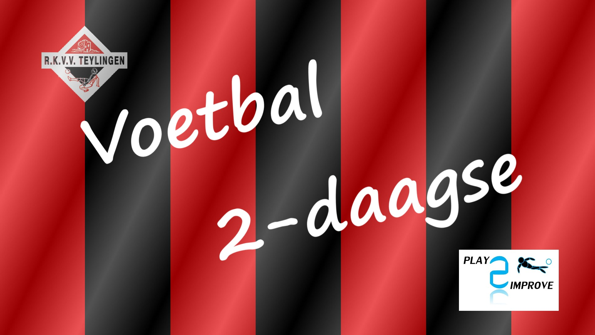 Voetbal 2-daagse bij RKVV Teylingen